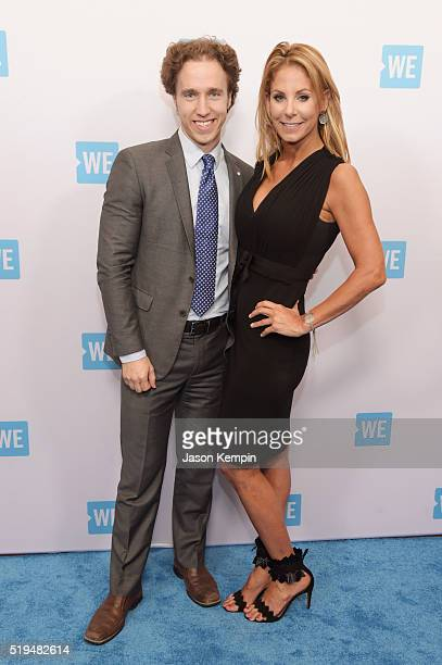 CoFounder WE Day Free The Children and ME to WE Craig Kielburger and President and CEO of the Argyros Group Stephanie Argyros attend the WE Day...