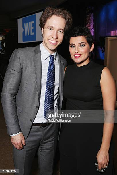 CoFounder WE Day Free The Children and ME to WE Craig Kielburger and recording artist Nelly Furtado attend the WE Day Celebration Dinner at The...