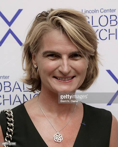 Cofounder/executive director of the Pershing Square Sohn Research Alliance Olivia Tournay Flatto arrives for the first annual Lincoln Center Global...