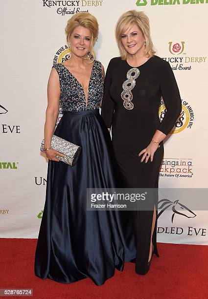 Cofounders and Hosts of Unbridled Gala Tonya YorkDees and Tammy YorkDay attend Unbridled Eve Gala during the 142nd Kentucky Derby on May 6 2016 in...