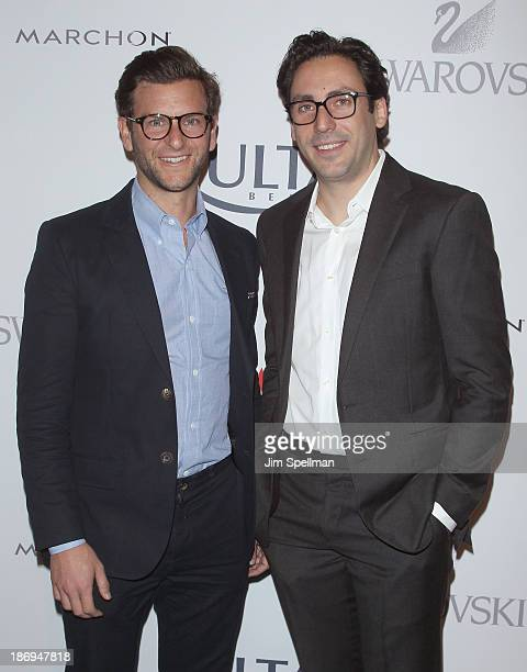 eed707a8866 CoFounders CoCEOs of Warby Parker Dave Gilboa and Neil Blumenthal attend the  17th annual ACE Awards