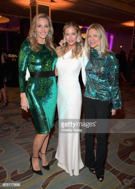 WCRF CoFounders Jamie Tisch and Quinn Ezralow and Crystal Lourd attend WCRF's An Unforgettable Evening Presented by Saks Fifth Avenue on February 27...