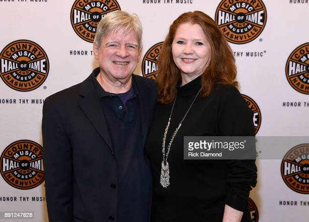 Cofounders of Carter Vintage Guitars Walter Carter and Christie Carter attend the Jason Isbell performance with the 400 Unit on a 2nd Sold Out Night...