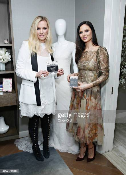 CoFounders of fashion label Marchesa Keren Craig and Georgina Chapman attend as Wedding Paper Divas with Marchesa unveil their new bridal stationery...