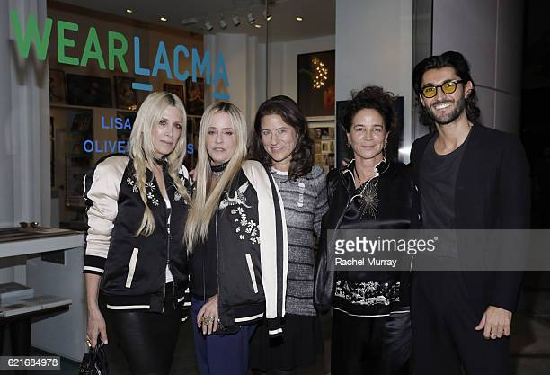 CoFounders of Pam Gela and Juicy Couture Gela NashTaylor and Pamela SkaistLevy Katherine Ross Jewerly Designer Lisa Eisner and Oliver Peoples...