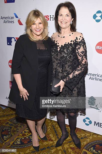 Cofounders SU2C Council of Founders and Advisors Lisa Paulsen and Sherry Lansing attend Stand Up To Cancer's New York Standing Room Only presented by...
