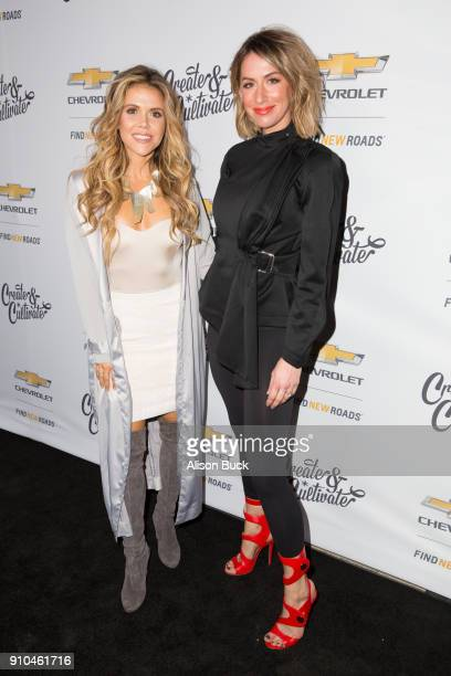 Cofounders Tone It Up Katrina Scott and Karena Dawn attend Create Cultivate and Chevrolet Host Create Cultivate 100 on January 25 2018 in Culver City...