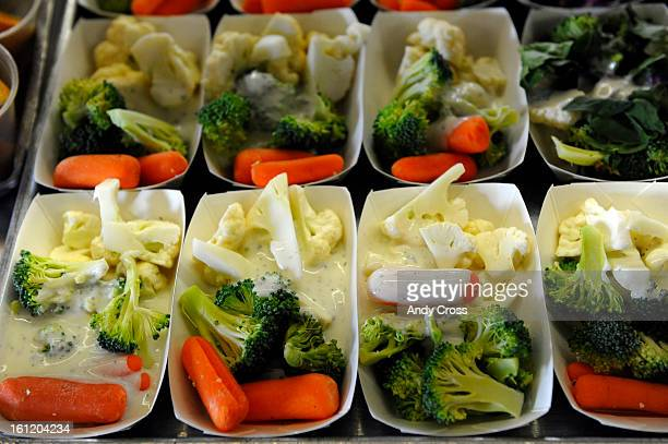DENVER COFresh vegetables available for Fairview Elementary students Thursday morning Italian subs turkey chef salads and gardden chili were also...