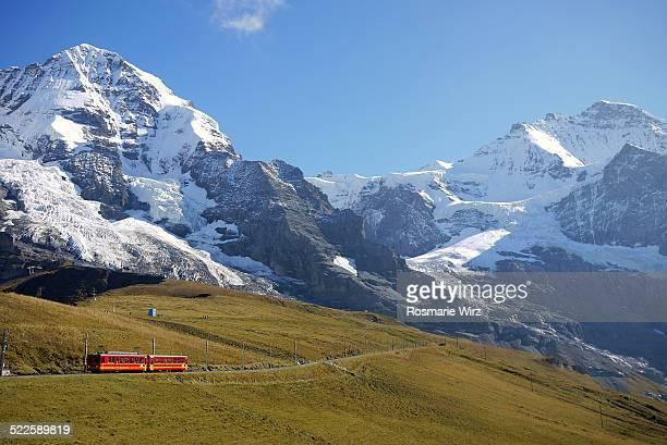 Cog railway to the Jungfraujoch
