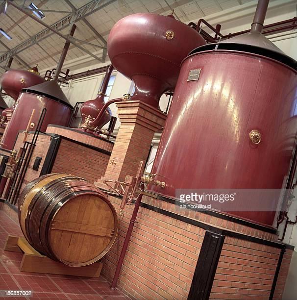 Cognac Brandy distillery