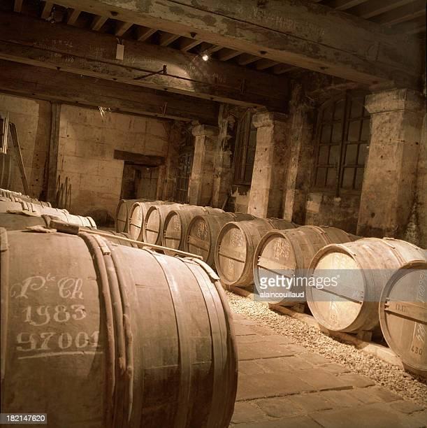 Cognac cellar