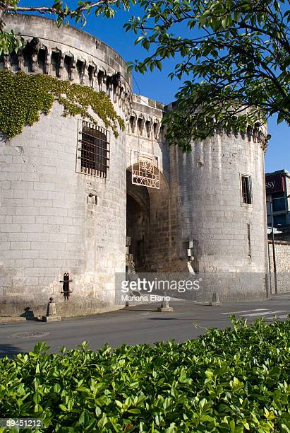 Cognac France Door of the wall of the medieval city The town gives its name to one of the world's bestknown types of brandy Drinks that bear this...