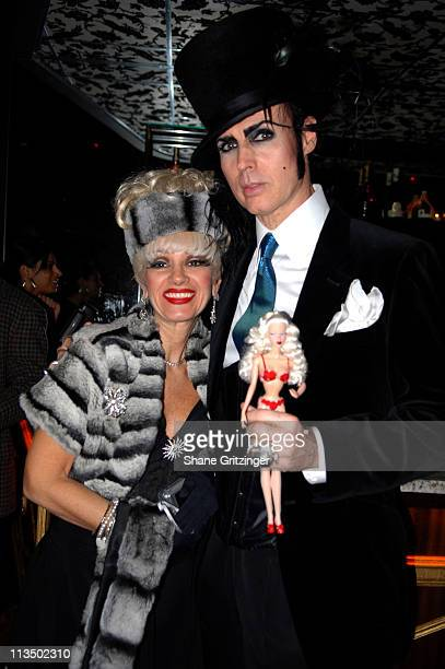 Cognac Wellerlane and Patrick McDonald during The Launch Of La Dolce Eve Kitten Doll Hosted By Amanda Lepore February 20 2007 at Room Service in New...