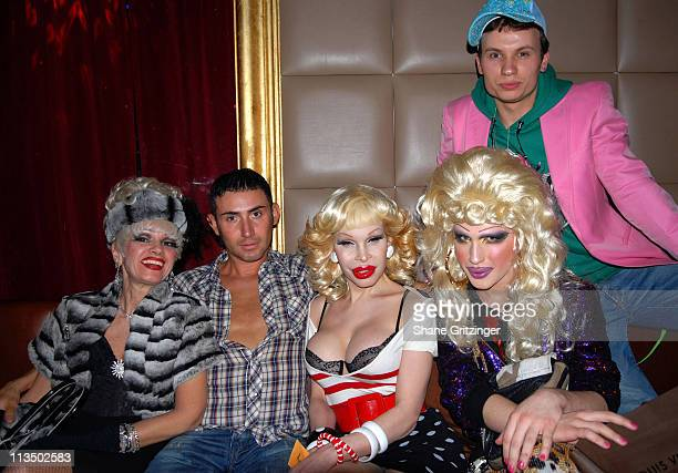 Cognac Wellerlane Joseph Israel Amanda Lepore Jodie Harsh and Dennis The Menace