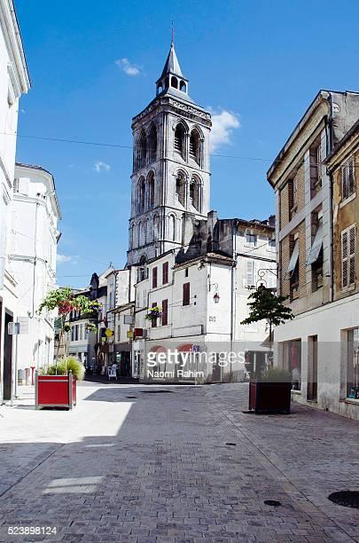 Cognac's medieval quarter Vieux Cognac, France