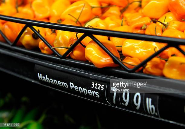DENVER COHabanero peppers available at the newly remodeled King Soopers 2727 W Evans Tuesday afternoon Andy Cross The Denver Post