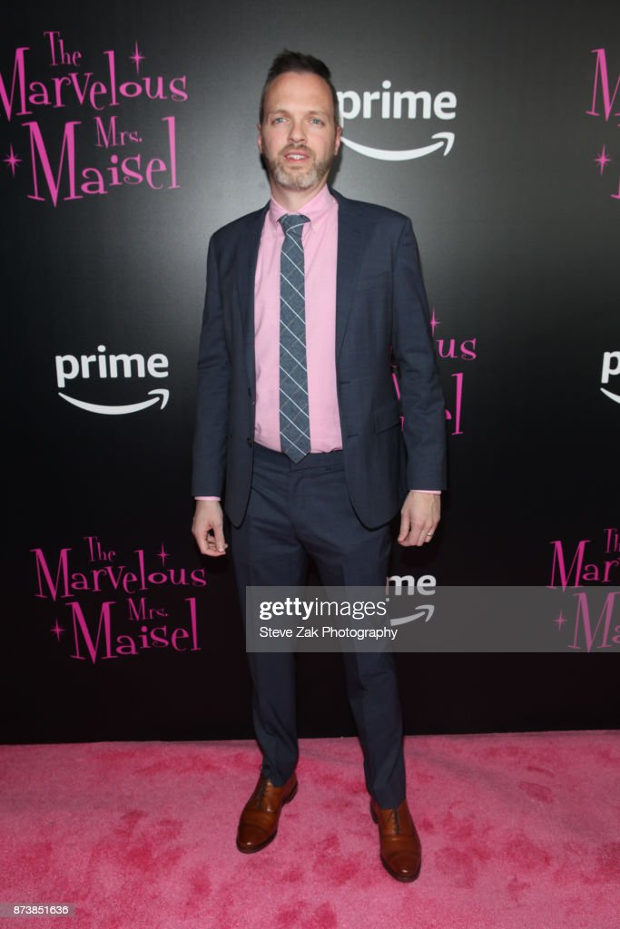Co-Head of Current Series Marc Resteghini attends 'The Marvelous Mrs. Maisel' New York Premiere at Village East Cinema on November 13, 2017 in New York City.