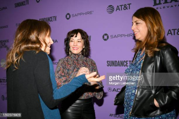 CoHead of HBO Documentary Programming Lisa Heller Producer Natasha Gregson Wagner and CoHead of HBO Documentary Programming Nancy Abraham attend the...
