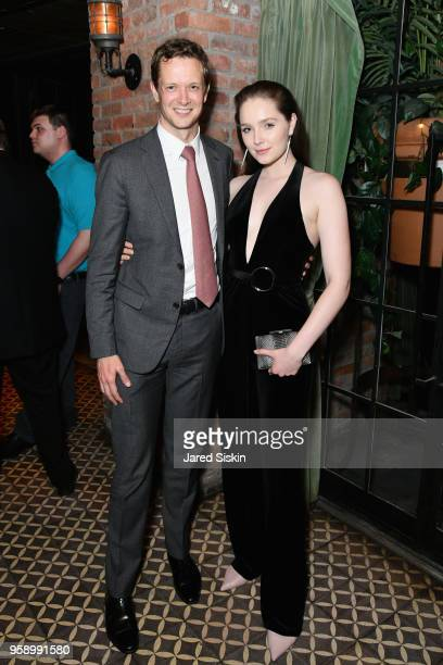 CoHead of Talent At Gersh Nick Collins and Amy Forsyth attend the Gersh Upfronts Party 2018 at The Bowery Hotel on May 15 2018 in New York City