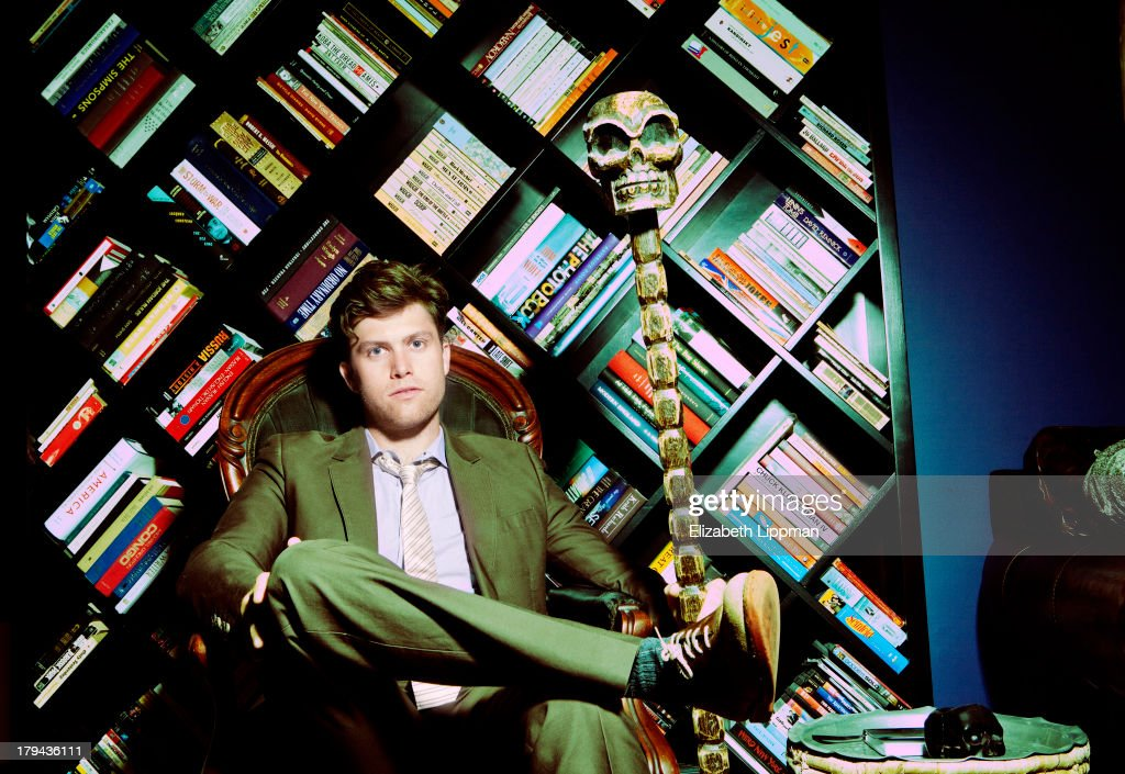 Co Head Writer For Snl Colin Jost Is Photographed For Boston Globe News Photo Getty Images