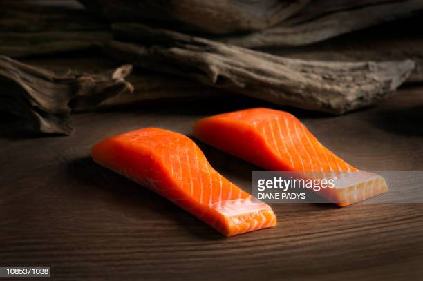 Coho Salmon Portions