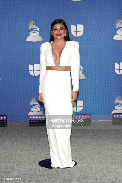 Co-host Ana Brenda Contreras attends The 21st Annual Latin GRAMMY Awards at American Airlines Arena on November 19, 2020 in Miami, Florida.