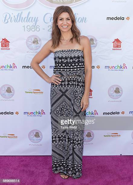 CBSLA cohost and author Jill Simonian attends the Pump Station and Nurtury 30th anniversary celebration at Pump Station Nurtury on August 14 2016 in...