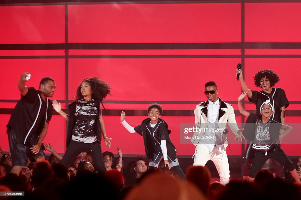 2015 BET Awards - Show : News Photo