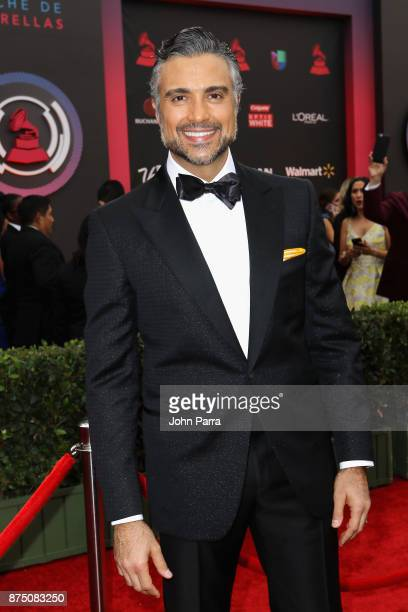 Cohost attends the 18th Annual Latin Grammy Awards at MGM Grand Garden Arena on November 16 2017 in Las Vegas Nevada