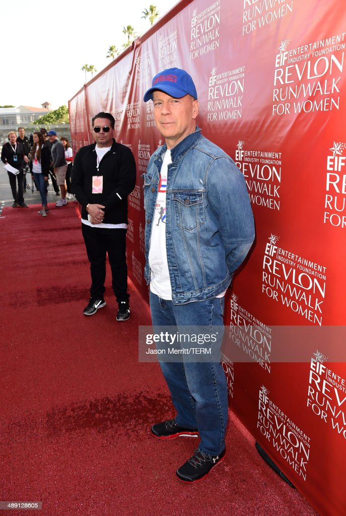 Co-Host Bruce Willis attends the 21st Annual EIF Revlon Run Walk For Women on May 10, 2014 in Los Angeles, California.