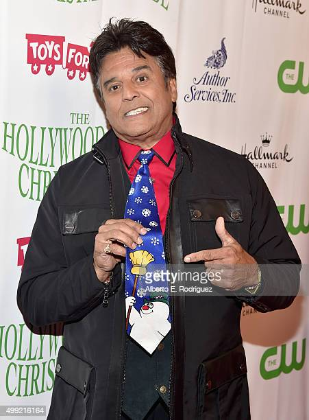 Cohost Erik Estrada attends 2015 Hollywood Christmas Parade on November 29 2015 in Hollywood California