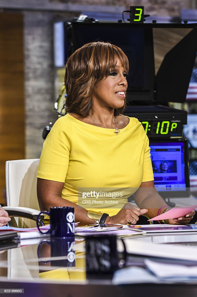Co-Host Gayle King anchors CBS News' Campaign: 2016 Election
