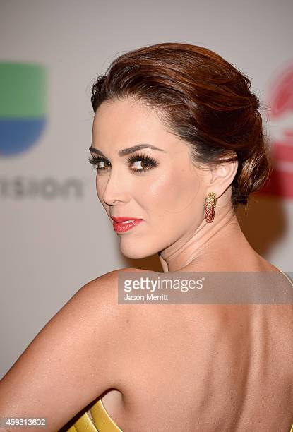 Cohost Jacqueline Bracamontes attends the 15th Annual Latin GRAMMY Awards at the MGM Grand Garden Arena on November 20 2014 in Las Vegas Nevada