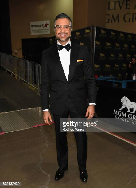 Cohost Jaime Camil attends The 18th Annual Latin Grammy Awards at MGM Grand Garden Arena on November 16 2017 in Las Vegas Nevada