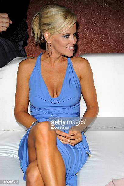 Cohost Jenny McCarthy attends the 6th Annual Leather and Laces Celebration at Jackson's on January 30 2009 in Tampa Florida