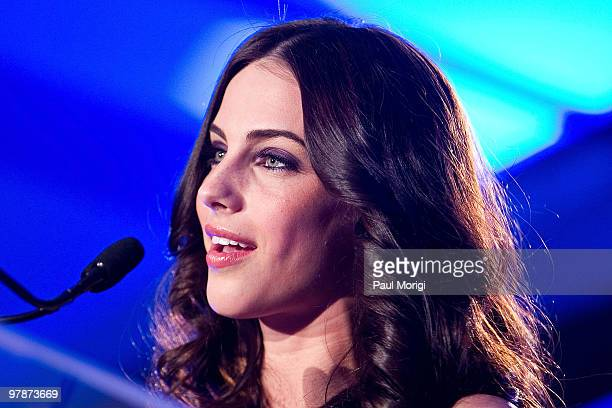 Cohost Jessica Lowndes at the Planned Parenthood Federation Of America 2010 Annual Awards Gala at the Hyatt Regency Crystal City on March 18 2010 in...
