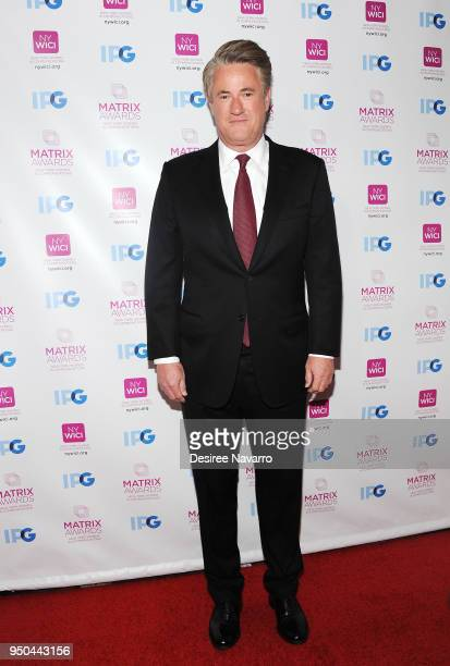 TV cohost Joe Scarborough attends 2018 Matrix Awards at Sheraton New York Times Square on April 23 2018 in New York City