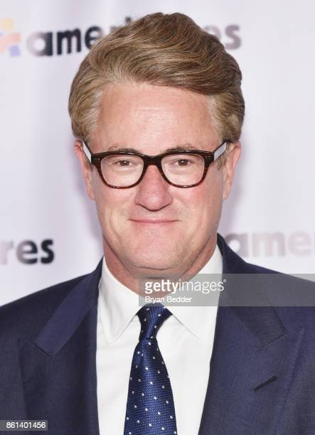 Cohost Joe Scarborough attends the 2017 Americares Airlift Benefit at Westchester County Airport on October 14 2017 in Armonk New York