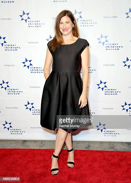 CoHost Kathryn Hahn attends the Zimmer Children's Museum Discovery Award Dinner at The Globe Theatre on November 12 2015 in Universal City California