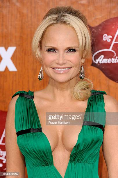 Cohost Kristin Chenoweth arrives at the American Country Awards 2011 at the MGM Grand Garden Arena on December 5 2011 in Las Vegas Nevada