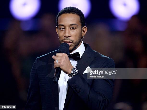 Cohost Ludacris speaks onstage during the 2016 Billboard Music Awards at TMobile Arena on May 22 2016 in Las Vegas Nevada