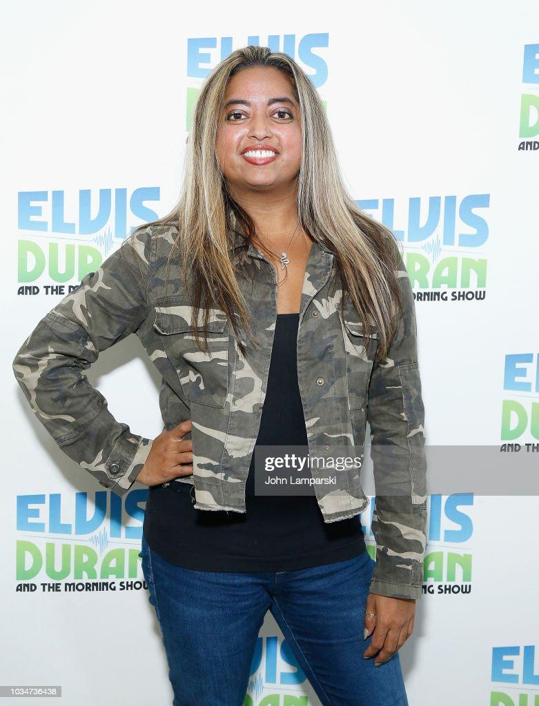 """Cohost Medha Gandhi Joins """"The Elvis Duran Z100 Morning Show"""" : News Photo"""