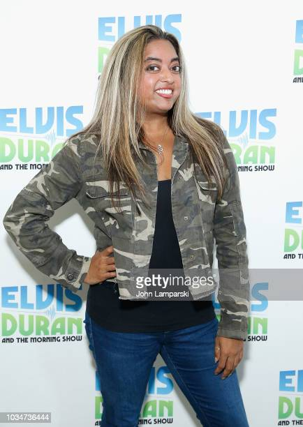 Cohost Medha Gandhi joins The Elvis Duran Z100 Morning Show at Z100 Studio on September 17 2018 in New York City