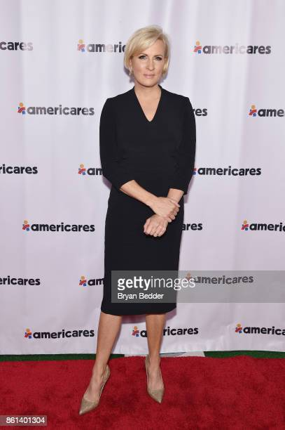 Cohost Mika Brzezinski attends the 2017 Americares Airlift Benefit at Westchester County Airport on October 14 2017 in Armonk New York