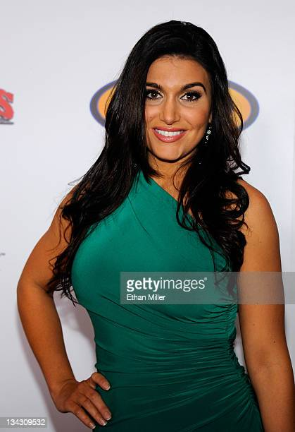 Cohost Molly Qerim arrives at the Fighters Only World Mixed Martial Arts Awards 2011 at the Palms Casino Resort November 30 2011 in Las Vegas Nevada