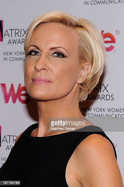 Cohost MSNBC's 'Morning Joe' Mika Brzezinski attends the New York Women In Communications 2013 Matrix Awards at The Waldorf Astoria on April 22 2013...