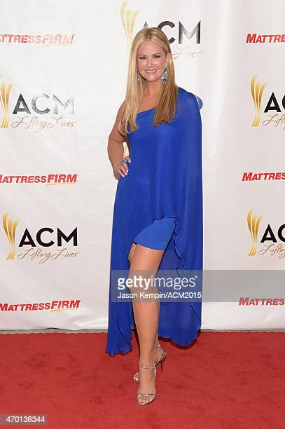 Co-host Nancy O'Dell attends the ACM Lifting Lives Gala at the Omni Hotel on April 17, 2015 in Dallas, Texas.