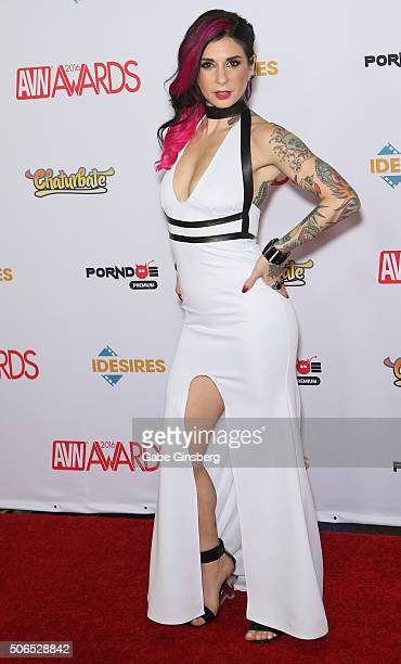 Cohost of the 2016 Adult Video News Awards adult film actress/director Joanna Angel attends the 2016 Adult Video News Awards at the Hard Rock Hotel...