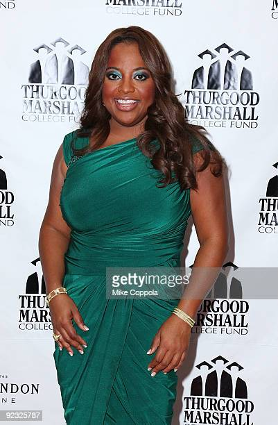 Cohost of The View and mistress of ceremonies Sherri Shepherd attends the 4th Annual Front Row Fashion Show at the Roseland Ballroom on October 24...