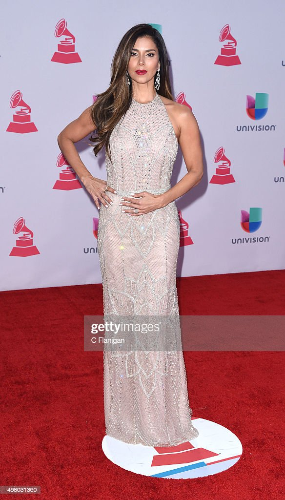 Co-host Roselyn Sanchez attends the 16th Annual Latin GRAMMY Awards at the MGM Grand Garden Arena on November 19, 2015 in Las Vegas, Nevada.